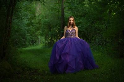 Fairytale Path for Senior Portraits