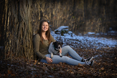 Pets in your Senior Portraits