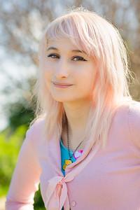 Emi w pink hair