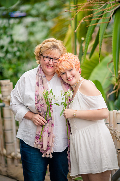 Senior with Mom
