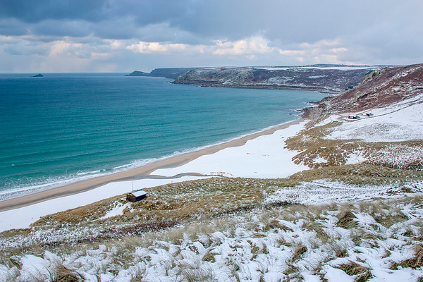 Sennen in the Snow
