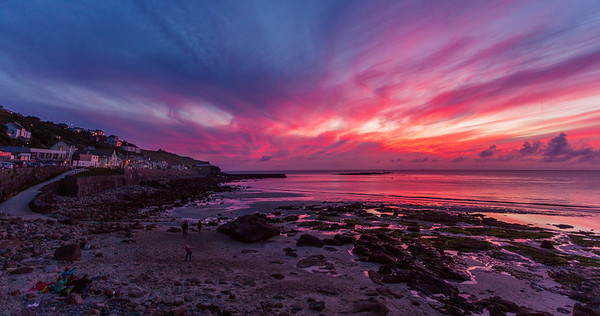 Another spectacular sunset at Sennen