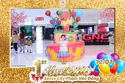 Sense City Pham Van Dong 1st Anniversary instant print photobooth | Chụp hình in ảnh lấy liền Sự kiện tại TP Hồ Chí Minh | Photobooth Saigon