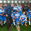 during the Sentinel Cup Final between Newcastle Town and Abbey Hulton FC<br /> At the BET 365 Stadium<br /> Trentham Lakes<br /> Stoke on Trent