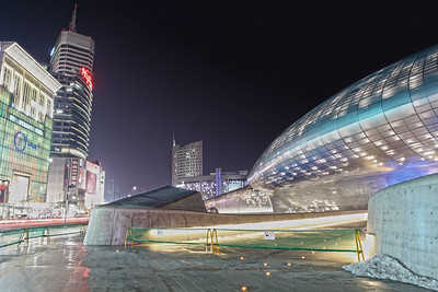 This is the Dongdaemun History & Culture Park.