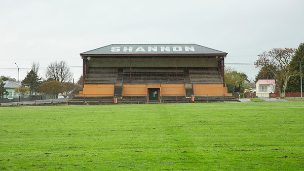 Image of Shannon Grandstand taken on 23 September 2020 in Shannon, Horowhenua, New Zealand. Copyright: John Mathews 2020.   phone 02744 54321