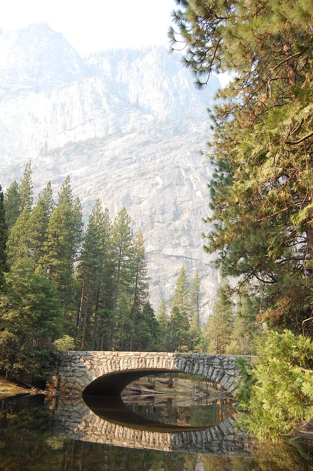Stone bridge in Yosemite NP.
