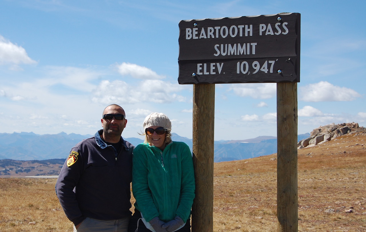 It was about 32 degrees at the pass and windy as shit.  My brain hurt from the wind blowing in my ears.