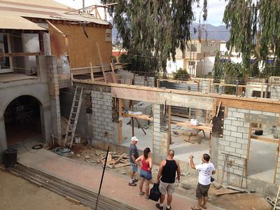 Sept 20-21, 2014 Puerta Hermosa Build Trip