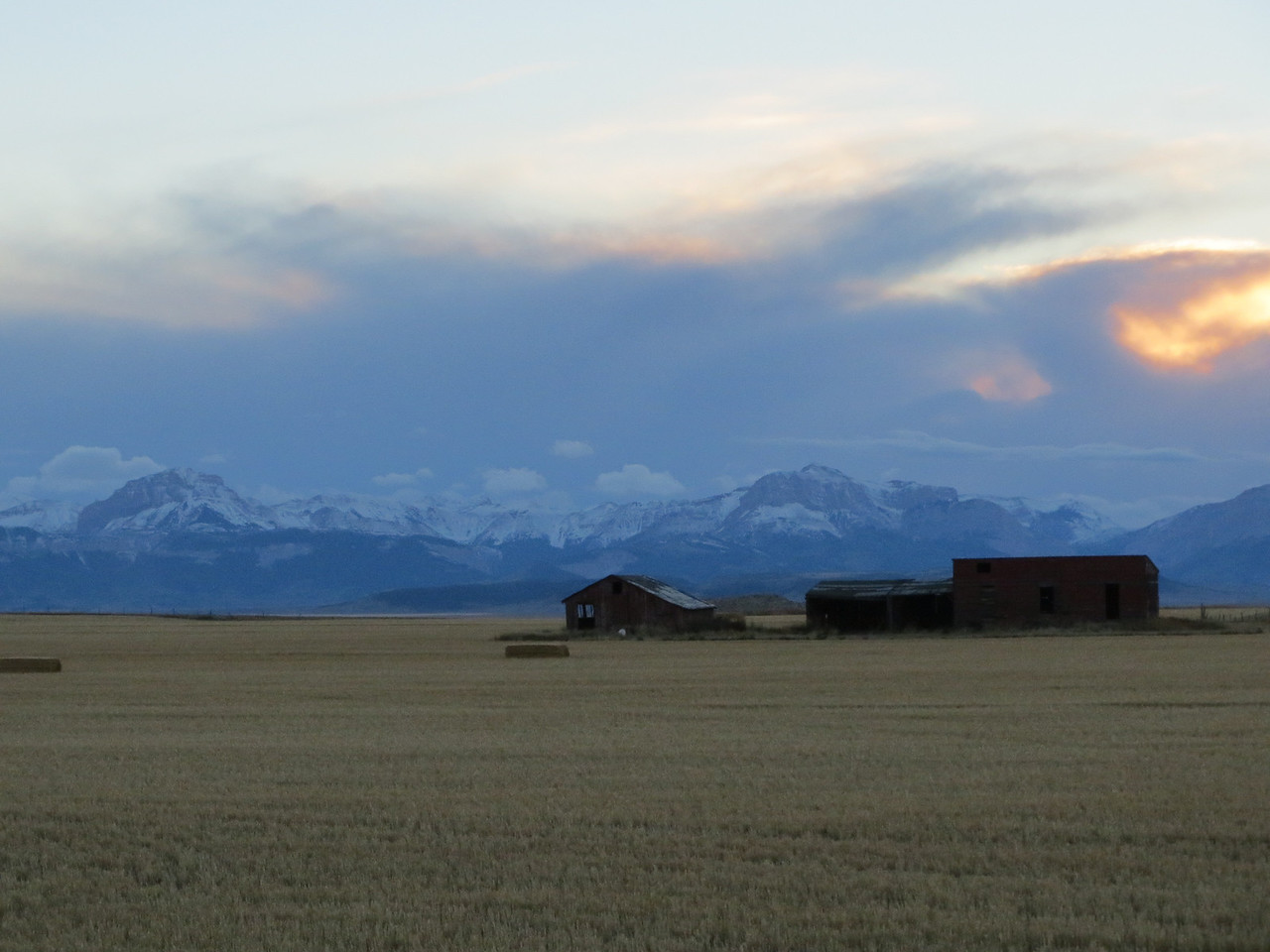 Sunset in the Rockies, MT