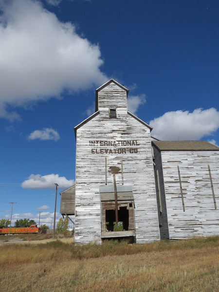 In ND and MT every town, about 7-10 miles apart, had a grain elevator.