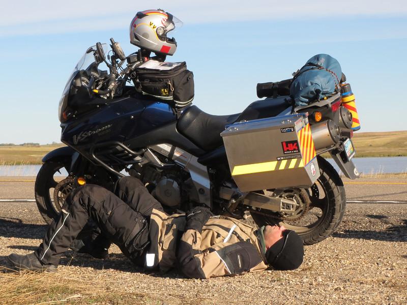 Riding make Brandon TIRED!!!!