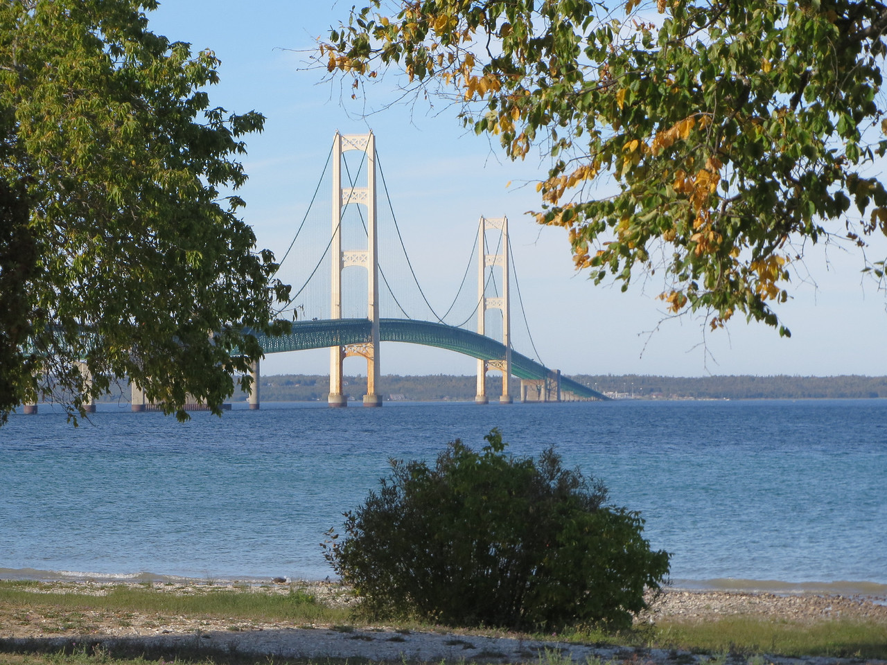 Mackinac Bay Bridge, MI