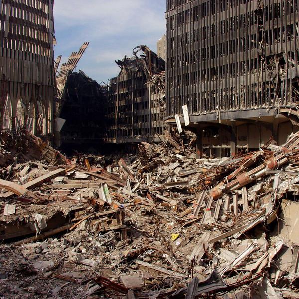(New York City, NY)<br /> Ground zero debrie.