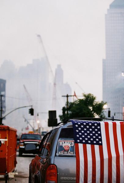 9-21-2001<br /> New York, NY<br />  ground zero.<br /> <br /> Photo:  Amanda Bricknell/FEMA