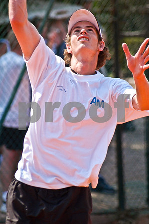 Andy Murray at La Manga Club, 17th September 2004