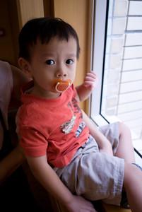Wei Wei by the window