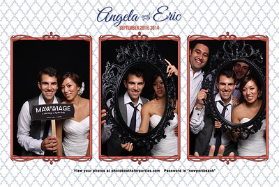 Angela and Eric Wedding