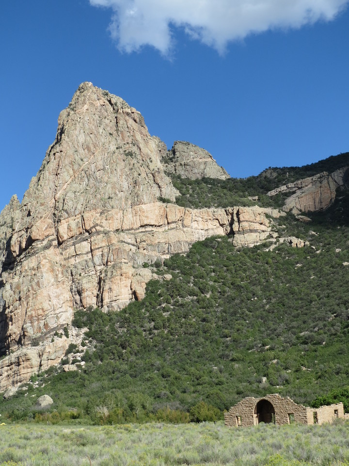 Day 5 (896 miles):  CO 141 / The Unaweep-Tabeguache Byway.  Old mission ruins.