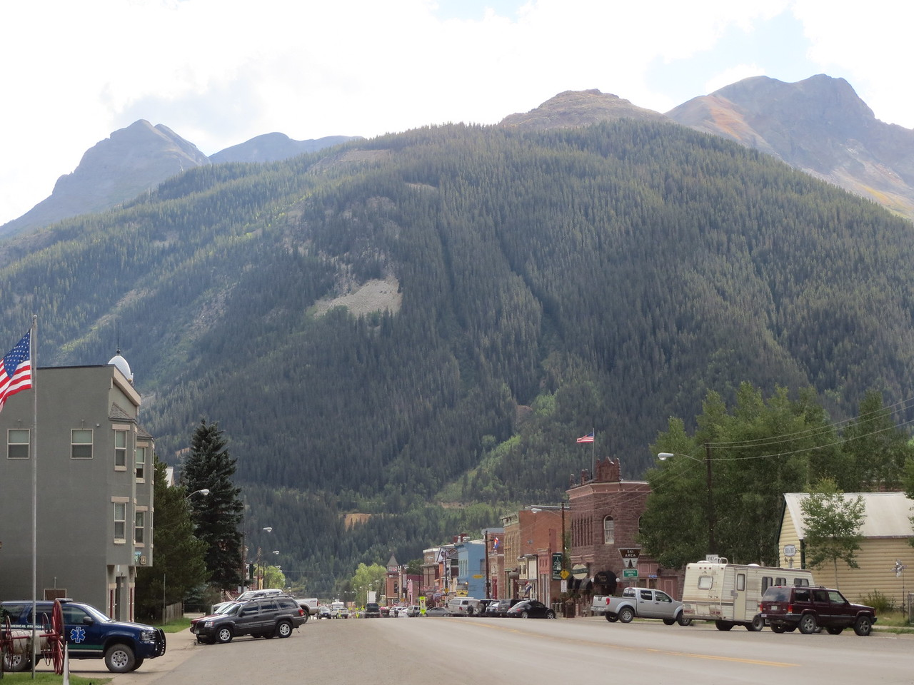 Day 4 (357 miles): Downtown Silverton CO