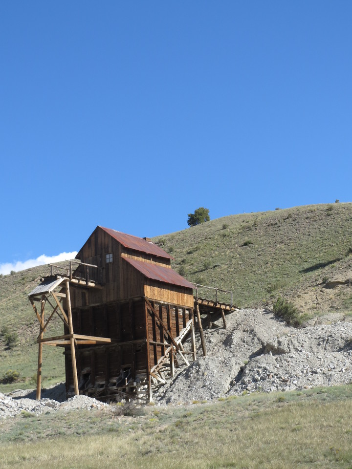 Day 4 (357 miles):  Restored mine near Creede CO, on CO 149.