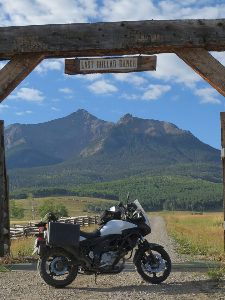 Day 5 (896 miles):  Last Dollar Road, near Telluride.  It basically shortcuts CO 62 and CO 145.  This road was my favorite of the trip!