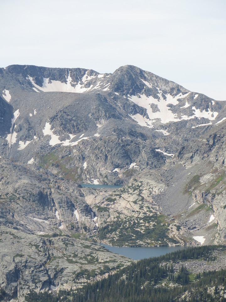 Day 3 (363 miles): Trail Ridge Rd, RMNP.  Above the treeline.