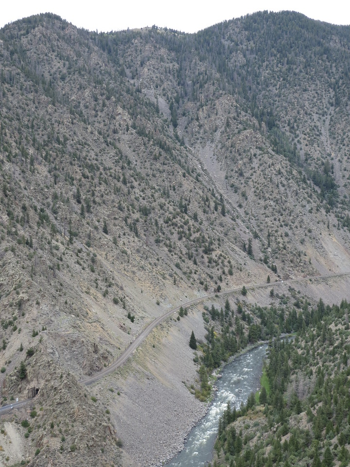 Day 3 (363 miles):  Colorado River Headwaters Scenic Byway.  Check out the shorty train tunnel.