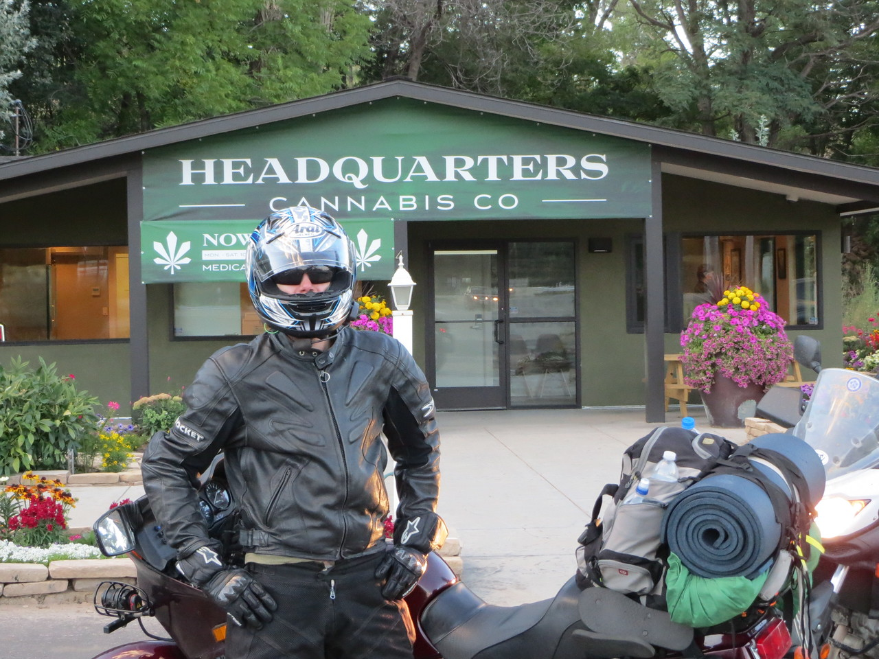 Day 2 (796 miles): Marijuana is now legal in Colorado, and they sell it right out of legitimate storefronts.