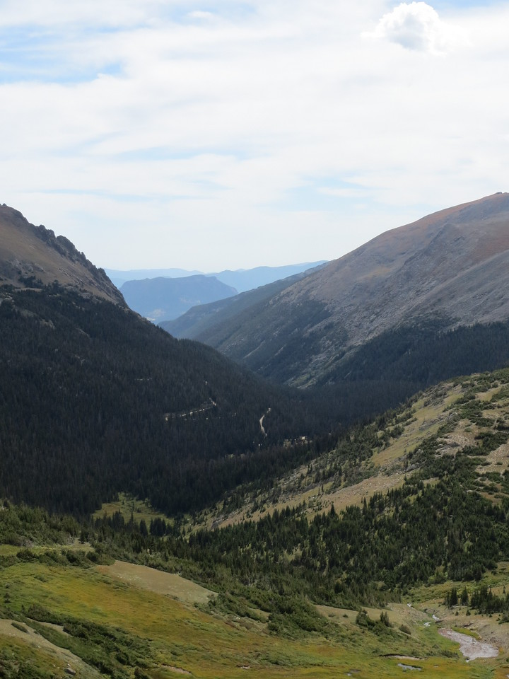 Day 3 (363 miles):  Trail Ridge Rd, RMNP