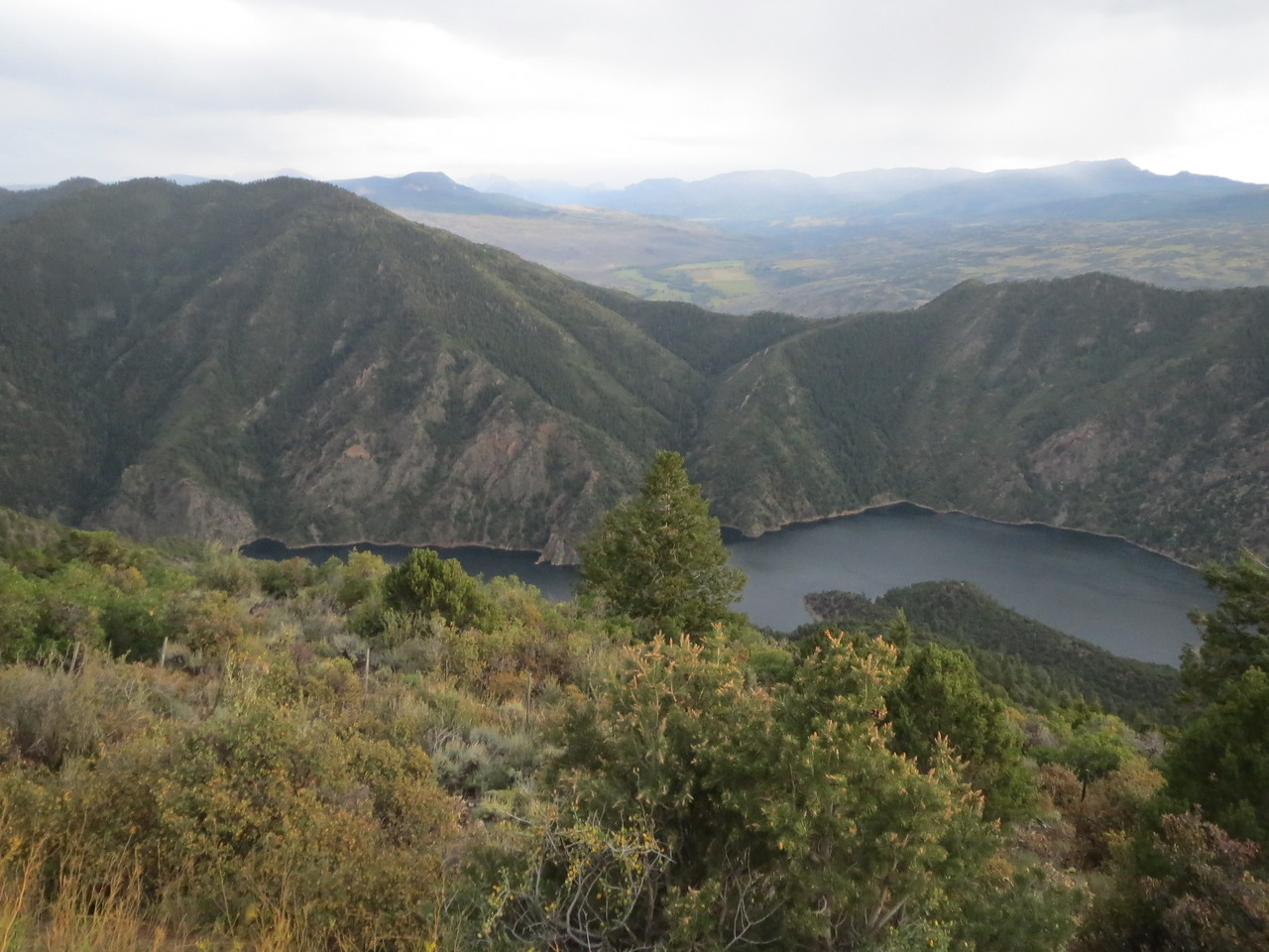 Day 3 (363 miles):   CO 92 and the Black Canyon of the Gunnison River
