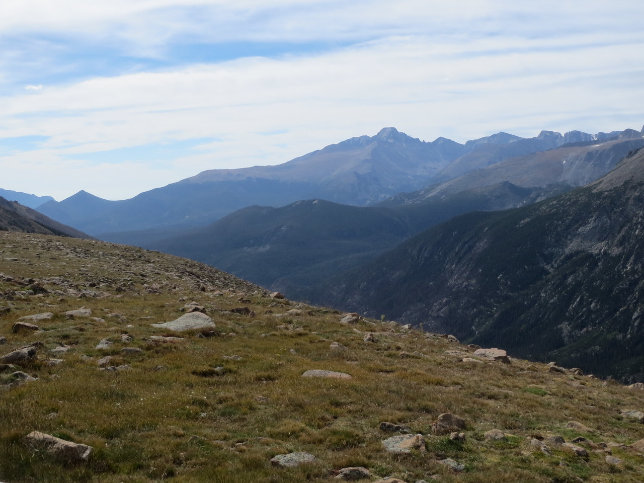 Day 3 (363 miles): Trail Ridge Rd, RMNP.  12,000 feet
