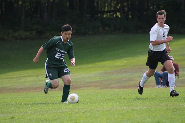 JV Soccer vs. KUA-- 9.20.14