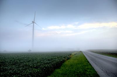 Wind Turbine Fog