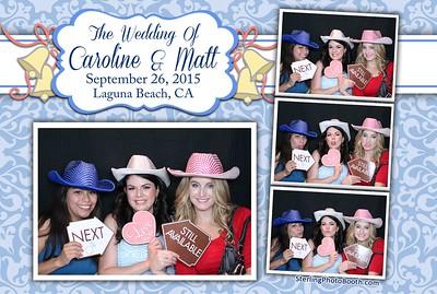 Caroline & Matt's Wedding