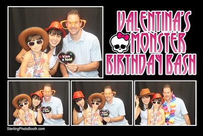 Valentina's Monster Birthday Bash