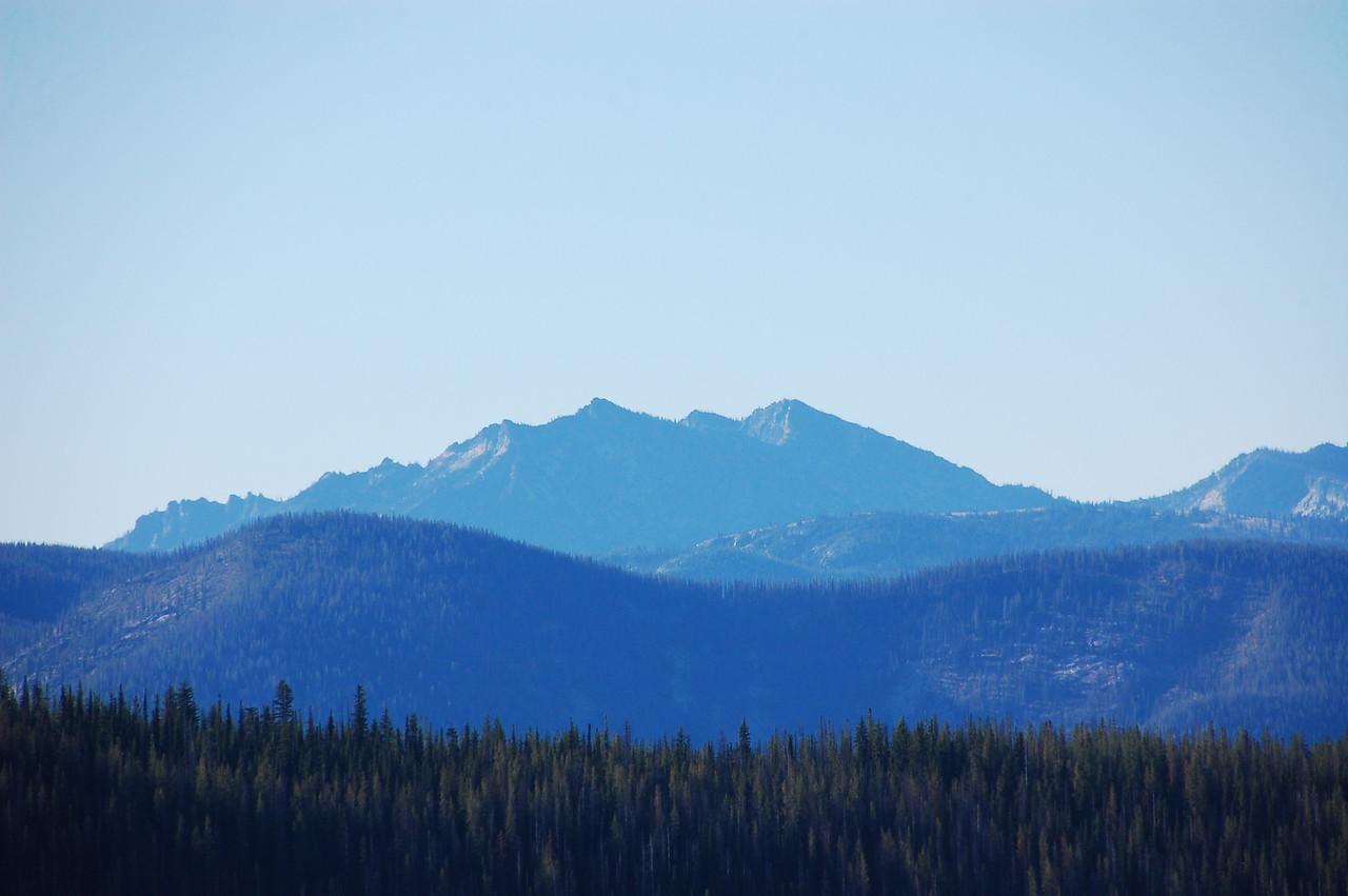 Mountain vistas from the Lolo.