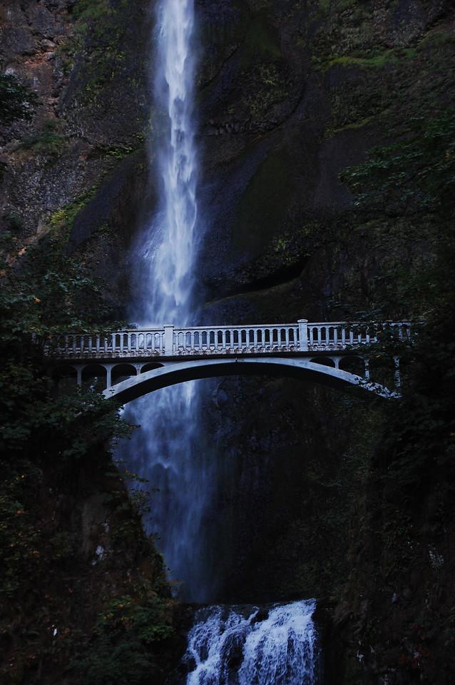 The bridge is a fairly easy 1/3 mile hike.