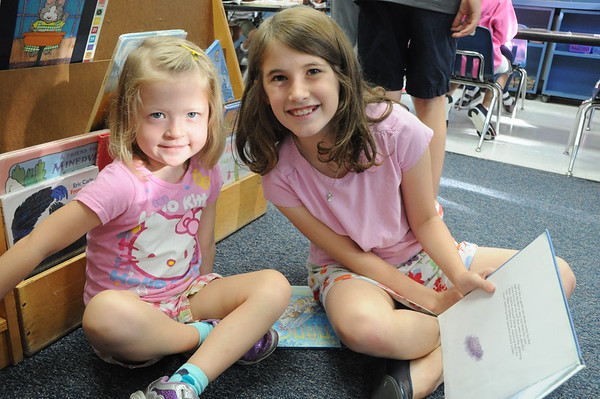 New Friendships in Kindergarten & Fourth Grade