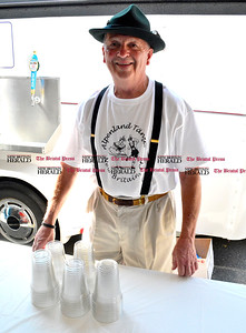 9/16/2016 Mike Orazzi   Staff David Peplau in the beer area during Immanuel Lutheran's one day German Festival Saturday in Bristol.