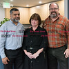 092816  Wesley Bunnell | Staff<br /> <br /> AFC Urgent Care located at 135 Main St. is nearly complete and ready to open. From L Dr. Iftikhar Ali, Regional Practice Manager Donna Lovallo & owner Tom Kelly.