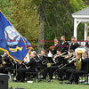 092916  Wesley Bunnell | Staff<br /> <br /> Navy Band Northeast performed for a crowd in Berlin at Veteran's Memorial Park on Wednesday evening.
