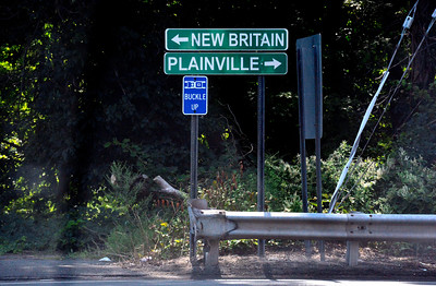 9/10/2016 Mike Orazzi | Staff North Mountain Road on the New Britain Plainville line on Saturday. Janet Caraballo body was found murdered on Friday.