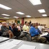 092316  Wesley Bunnell | Staff<br /> <br /> Protect Our Watersheds CT held an informational talk on Thursday evening at the New Britain Public Library with more than 100 in attendance.  The group opposes a plan by Tilcon to mine on New Britain watershed property.