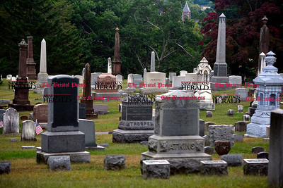 9/9/2014 Mike Orazzi | Staff An evening lantern tour of West Cemetery, complete with actors playing historical tales, is going to be held this month for first time.