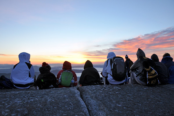 The Sunrise Climb