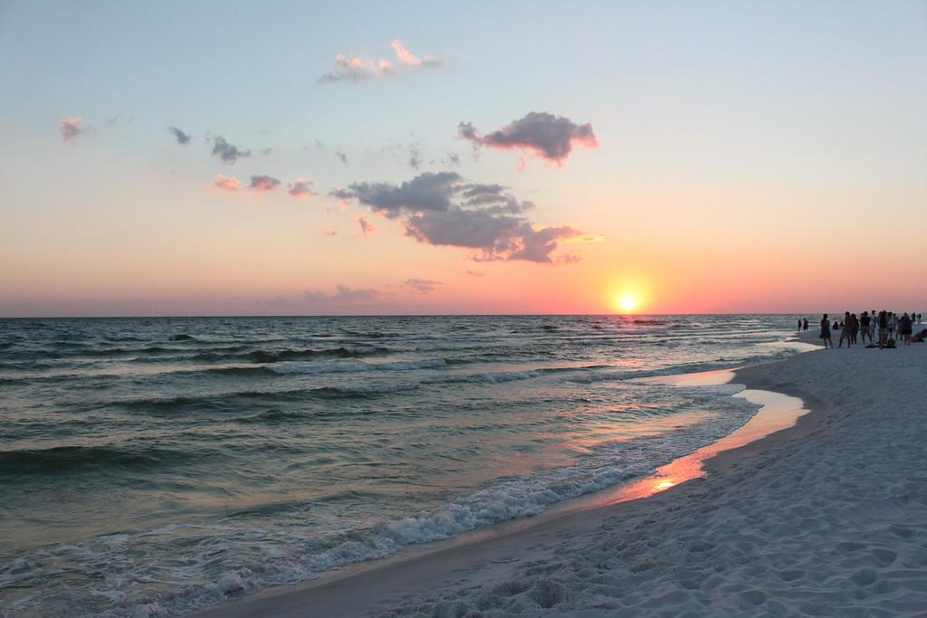 Sunset in Seaside FL