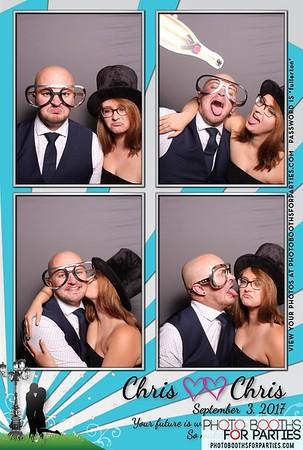 Chris & Chris' Wedding