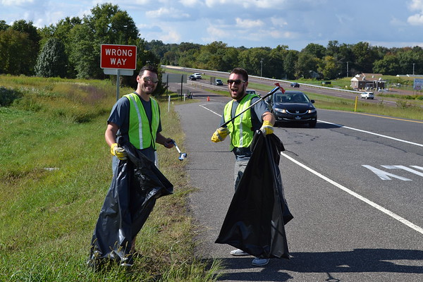 September 2017: Fall Adopt-a-Highway Cleanup