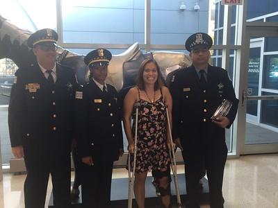 September 2017 Officer of Month Award